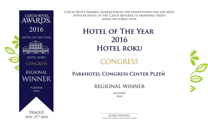 Hotel of the Year in Pilsen