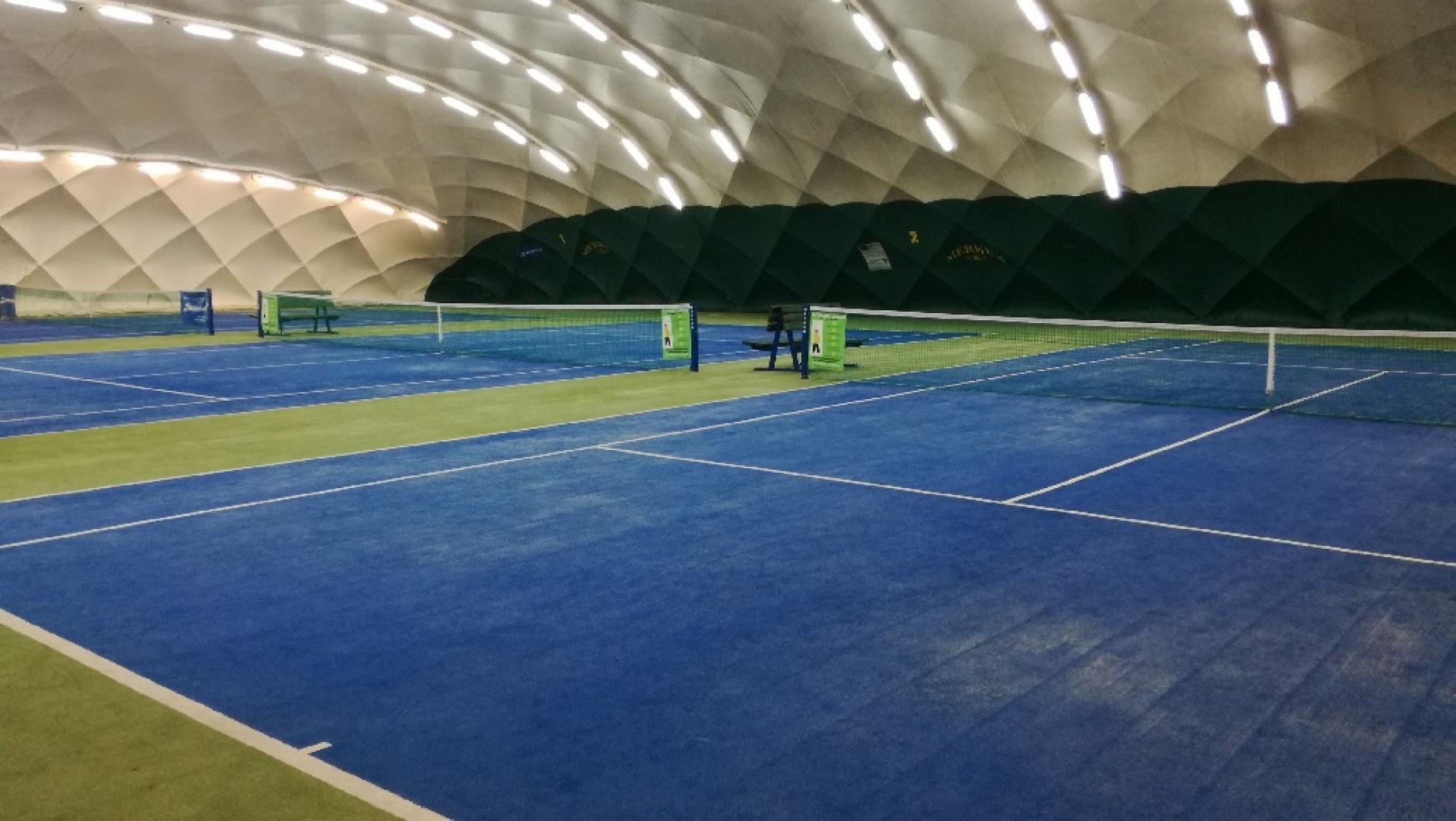 Tenisové kurty v Plzni s povrchem Fast Trak ITF