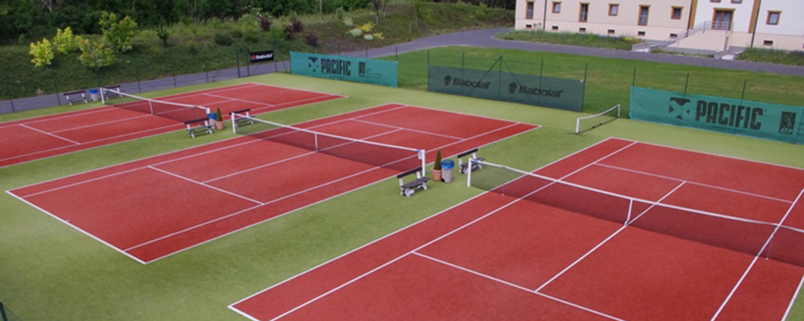 Tenisové kurty Parkhotel Plzeň